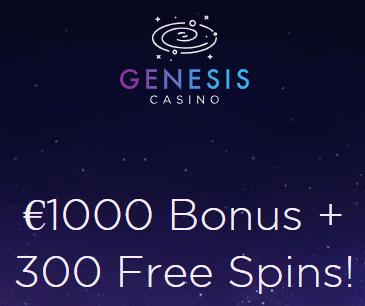 genesis casino bonus