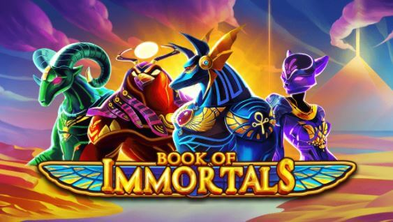Zahrajte si automat Book of Immortals v Casinia