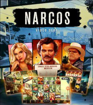 Se seriálovými Narcos se můžete potkat v Rise casinu