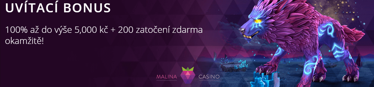 Malina Casino věrnostních bodů