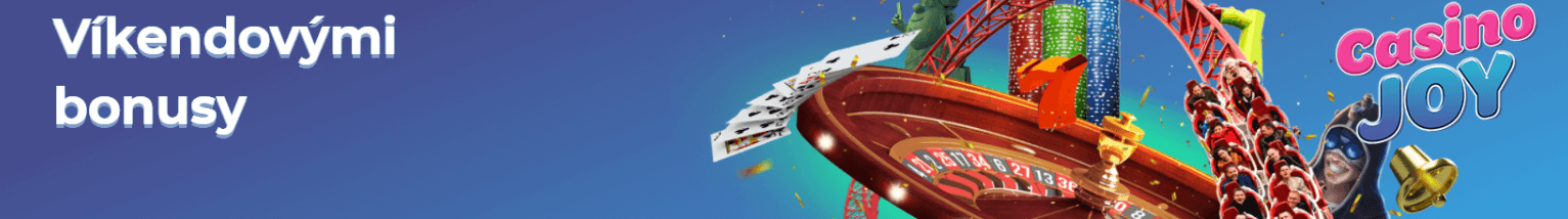 Casino Joy víkendovými bonusy